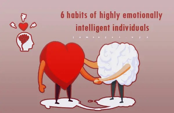 6 habits of highly emotionally intelligent individuals