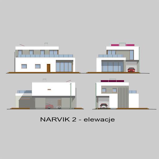Narvik 2 - Elewacje