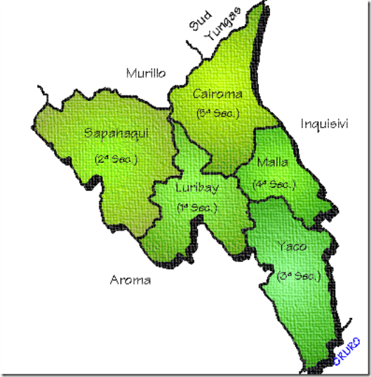 Provincia Loayza: departamento de La Paz (Bolivia)