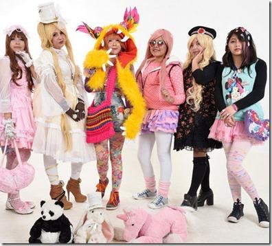 La moda Harajuku se luce en La Paz y se fusiona con detalles bolivianos