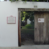 Entrance to old Spanish community.
