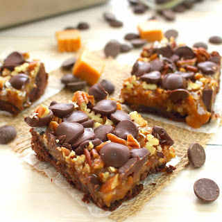 German Chocolate Cookie Bars.