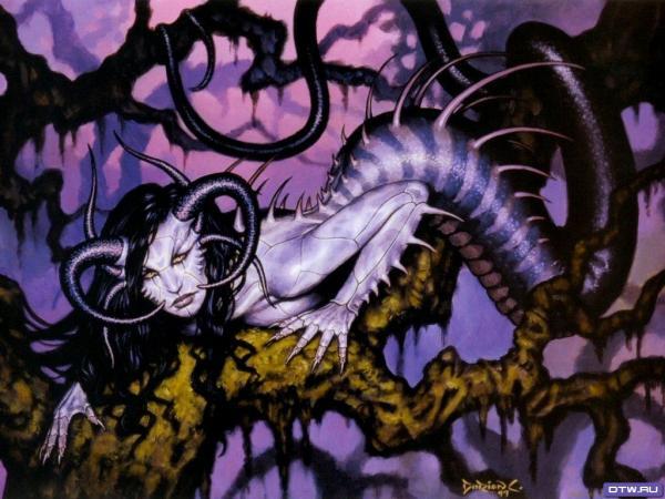 Demon Snake, Demonesses