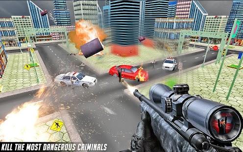 tajný odstřelovač střelec 3D - náhled