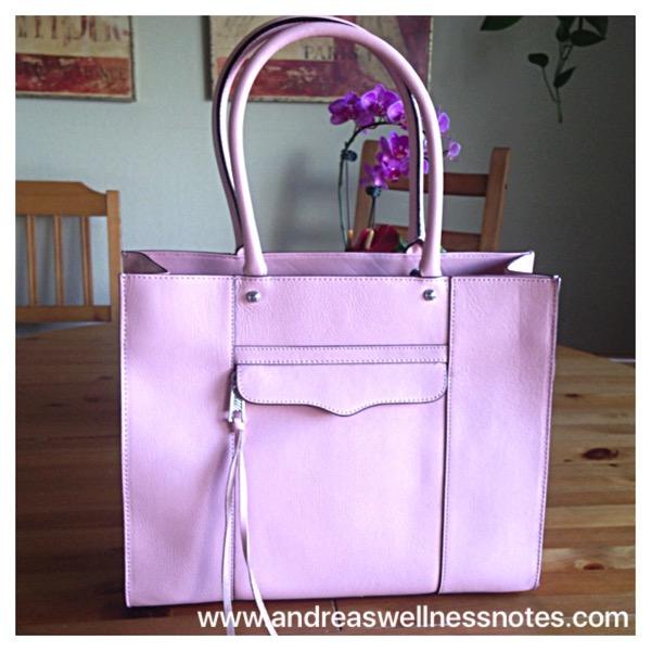 Rebecca Minkoff Pink MAB bag