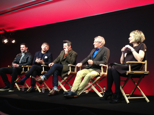 Martin Freeman, Richard Armitage, Andy Serkis -  The Hobbit Q & A today at the Regent Street Apple Store