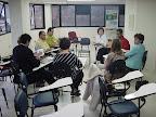 Reunião do Grupo Gestor da RENAS, durante o pré-encontro.