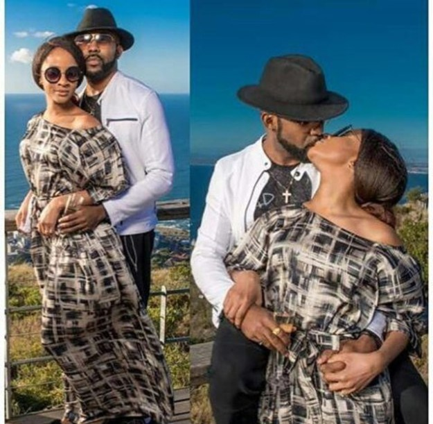 Adesua Etomi And Banky W Release New Photos From South Africa
