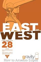 """Actualización 25/10/2016: Se agrega el número #28 de East of West, por TarkuX y Cucaracho de la pagina de Facebook G-Comis. """"La caída de la torre blanca"""" El fin de la Unión, la caída del elegido."""