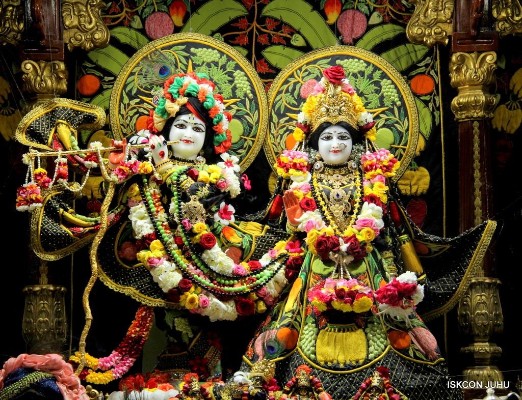 ISKCON Juhu Sringar Deity Darshan on 31st Dec 2016 (2)