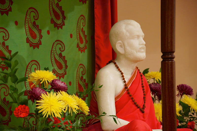 Christmas colors for Sri Ramakrishna