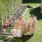 Allerseelen - Mittagshore am Konventfriedhof des Stiftes Wilten - 02.11.2015