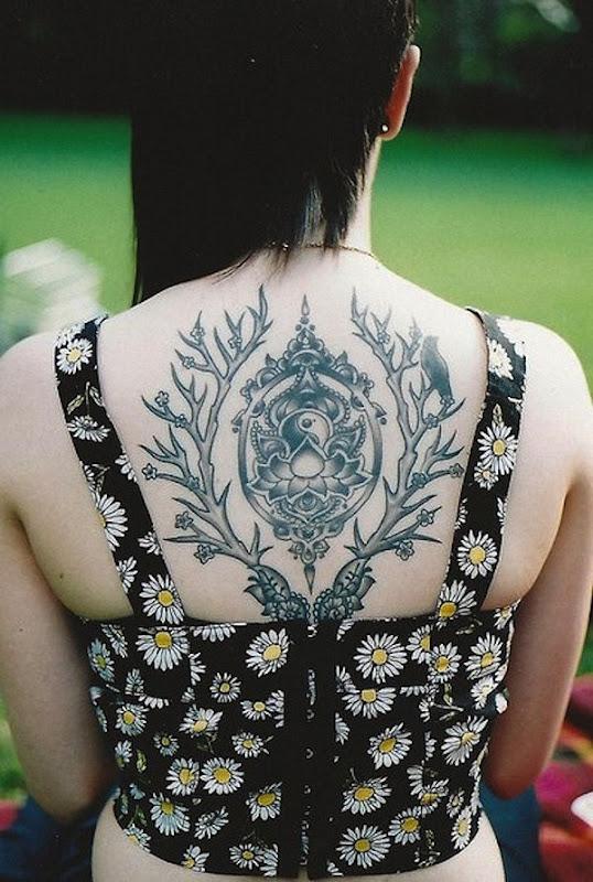 enquadrado_flor_de_ltus_com_yin-yang