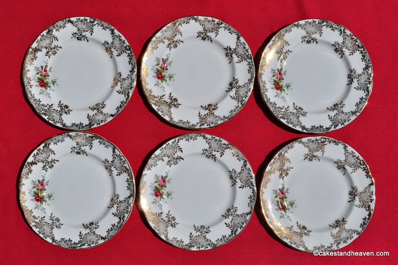 Royal Standard Tea Set Tea Plates x 6