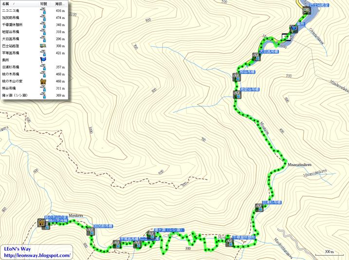 2017_1110-1114 百名山和三大峽谷‧大杉谷縱走大台原DAY2航跡圖