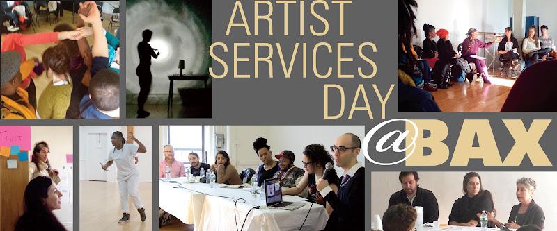 Artist Services Day