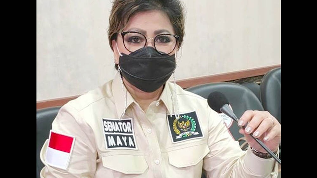Dinilai Kriminalisasi Ibu Bhayangkari, Senator Maya Rumantir : Nina Muhammad Harus Dibebaskan