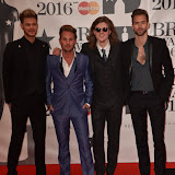 OIC - ENTSIMAGES.COM - Lawson at the  The BRIT Awards 2016 (BRITs) in London 24th February 2016.  Raymond Weil's  Official Watch and  Timing Partner for the BRIT Awards. Photo Mobis Photos/OIC 0203 174 1069