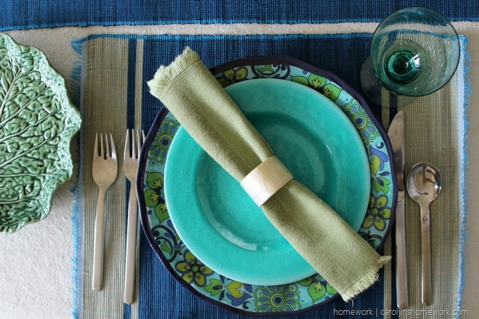 Mediterranean Table Setting via homework (9)