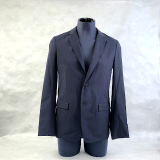 Theory NEW Navy 2-Button Blazer