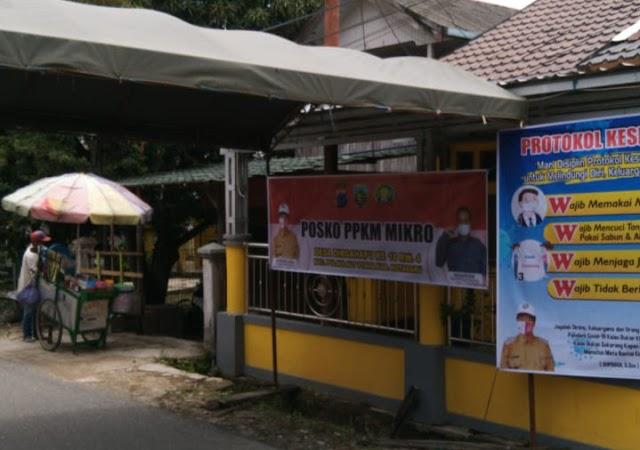 Cegah Klaster Covid-19, Desa Dirgahayu Dirikan Posko PPKM Mikro
