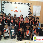 Halloween Carinval of Sr. KG. Section (2017-18) at Witty World, Bangur Nagar