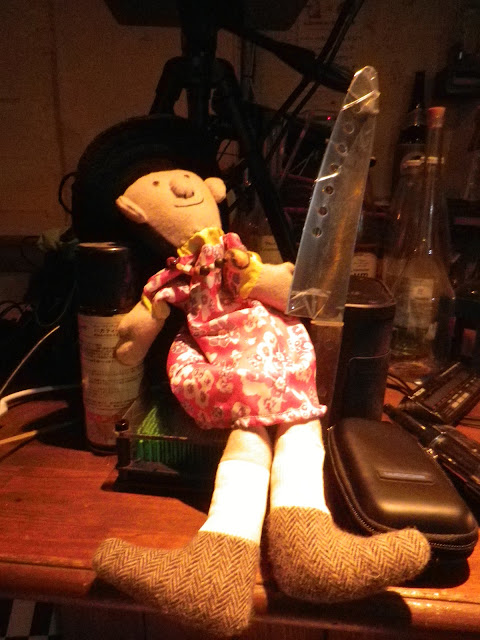 2016/07/23 PYT34 ミニひんでんさん (ハッピーひんでんさん人形) 自撮り。