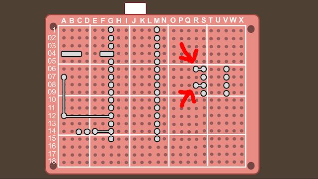 Synth build guide MIDI circuit 6