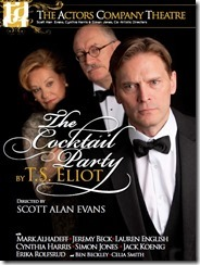 T.S. Eliot Cocktail Party play poster