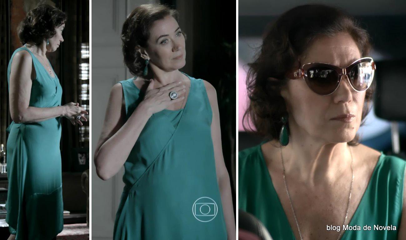 moda da novela Império, look da Maria Marta dia 14 de novembro