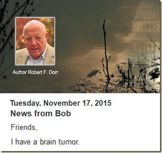 Robert F. Dorr - news from Bob Nov 2015