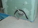 Strom für Handtuchwärmehalter im Elternbad
