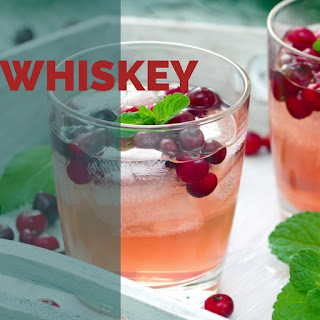Cranberry Whiskey Buck