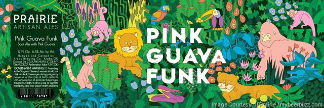 Prairie Artisan Ales Adding Pink Guava Funk