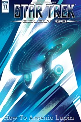 Actualización 25/06/2018: Los almirantes Luisplissken, Axelorius y Mastergel nos traen los números 11 y 12 de Star Trek: Boldly Go para La Leyenda de Star Wars y La Mansion del CRG.