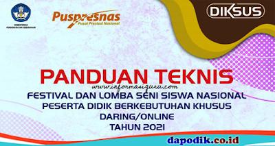 Juknis Festival dan Lomba Seni Siswa Tingkat Nasional (FLS2N) Peserta Didik Berkebutuhan Khusus (PDBK)