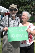 Photo: No Justice, No Peace