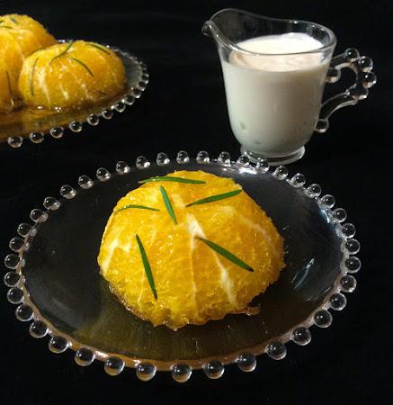 Pomarańcze, rozmaryn