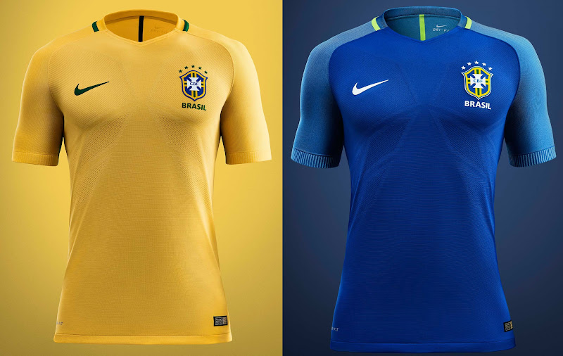 Brazil 2016 Copa America Kits  (both new) f6f376afa560d