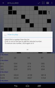 Number Fill in puzzles – Numerix, numeric puzzles 10
