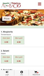 Pizzeria Al Bacio- screenshot thumbnail
