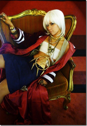 yu-gi-oh! cosplay - thief king bakura