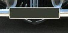 Citroën Traction plaque après 1952