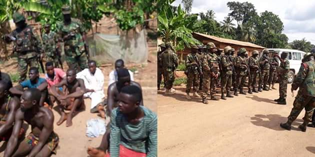 Soldiers Punish Residents Who Mistook A Ghanaian Soldier For Robber & Killed Him