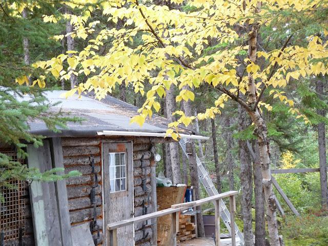 hunt camp at Lac Fourchette