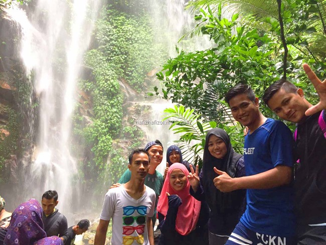 air terjun sungai kooi royal belum