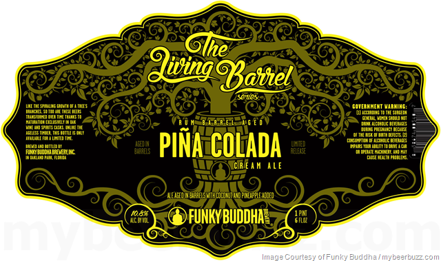 Funky Buddha Announces The Living Barrel Series (New Pina Colada