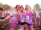 Julie, Alison, and I showing off our fabulous colored selves!