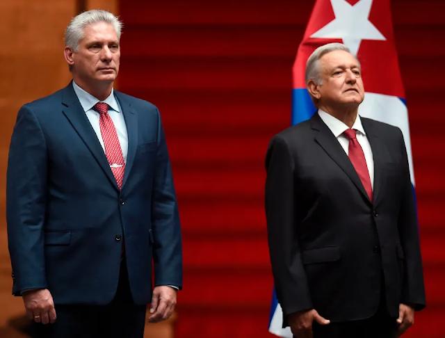 VIDEO: Reportaron enfrentamientos entre opositores cubanos y partidarios tras visita del presidente Díaz-Canel a México
