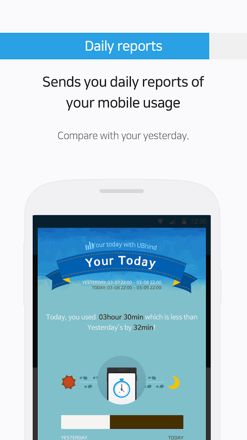 UBhind: No.1 Mobile Life Tracker/Addiction Manager- screenshot